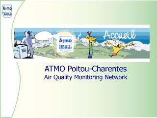 ATMO Poitou-Charentes Air Quality Monitoring Network