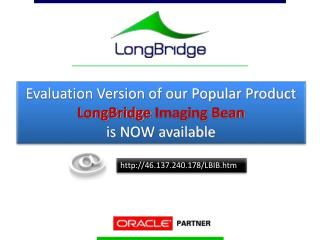 Evaluation Version of our Popular Product  LongBridge Imaging Bean  is NOW available
