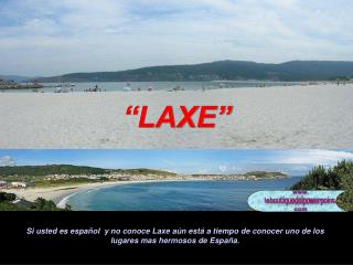 """""""LAXE"""""""