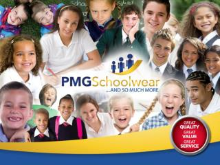 We are the schoolwear and sportswear experts. And our promise to you and your parents is: