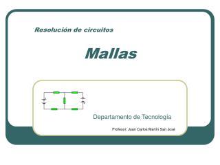 Resolución de circuitos