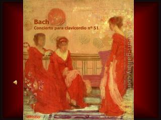 Bach Concierto para clavicordio nº 51