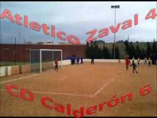 Atletico Zaval  4 CD Calderón 6