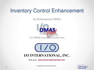 Inventory Control Enhancement