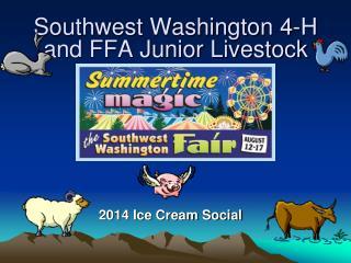 Southwest Washington 4-H and FFA Junior Livestock