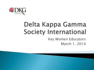 Delta Kappa Gamma Society International
