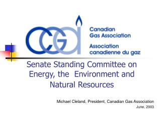 Senate Standing Committee on Energy, the  Environment and Natural Resources