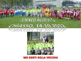Torneo Allievi G Chiasso, 14.10.2012