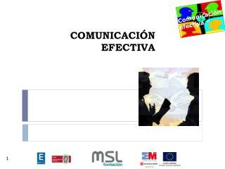 COMUNICACI�N EFECTIVA