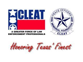 Texas Peace Officer  Line of Duty Deaths  January 2004 through October 2005