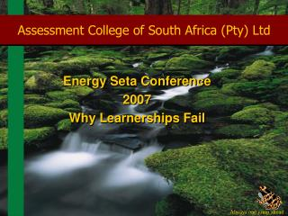 Assessment College of South Africa (Pty) Ltd