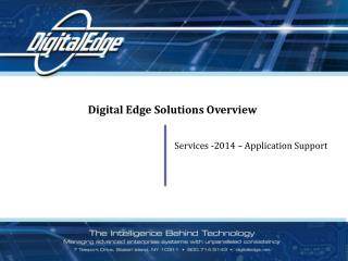 Digital Edge Solutions Overview