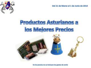 Productos Asturianos a los Mejores Precios