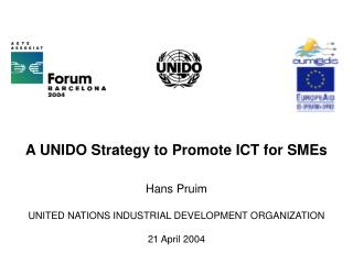 A UNIDO Strategy to Promote ICT for SMEs