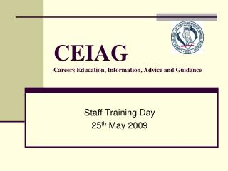 CEIAG  Careers Education, Information, Advice and Guidance