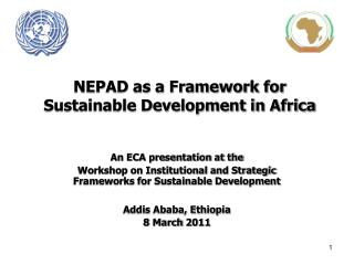 NEPAD as a Framework for Sustainable Development in Africa