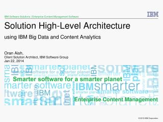 IBM Software Solutions | Enterprise Content Management Software
