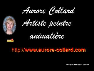 Aurore Collard Artiste peintre animalière