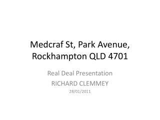 Medcraf St, Park Avenue, Rockhampton QLD 4701