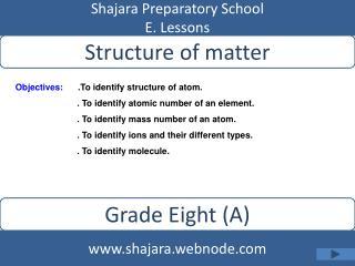 Shajara Preparatory School E. Lessons