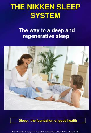 THE NIKKEN SLEEP SYSTEM