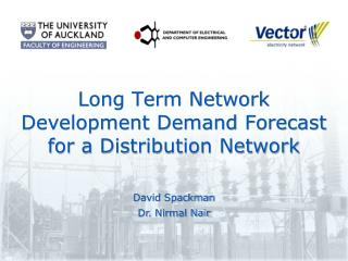 Long Term Network Development Demand Forecast for a Distribution Network