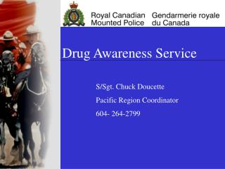 Drug Awareness Service