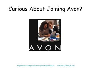 Curious About Joining Avon?