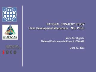 NATIONAL STRATEGY STUDY  Clean Development Mechanism  -  NSS PERU