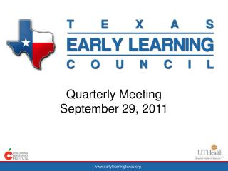 Quarterly Meeting September 29, 2011