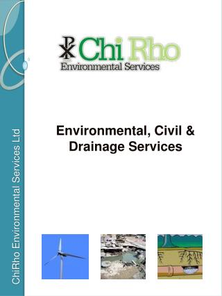 Environmental, Civil & Drainage Services