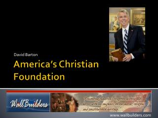 America�s Christian Foundation