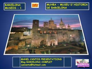 BARCELONA MUSEOS  - 1