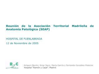 Reunión de la Asociación Territorial Madrileña de Anatomía Patológica (SEAP)