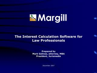 Margill - Interest Calculation  Software for Law Professionals