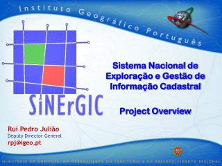 Sistema Nacional de Exploração e Gestão de Informação Cadastral Project Overview