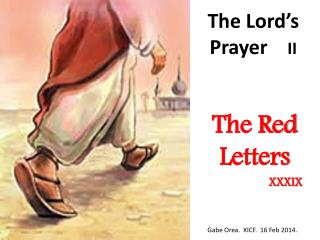 The Lord's Prayer     II