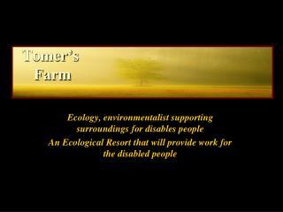 Tomer's  Farm