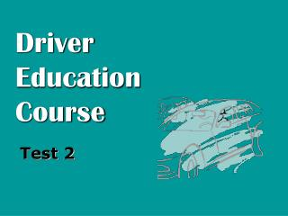 Driver Education Course