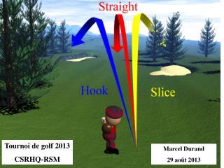 Tournoi de golf 2013 CSRHQ-RSM