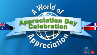 Appreciation Day Celebration