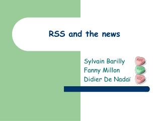RSS and the news