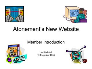 Atonement's New Website