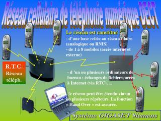 Système GIGASET Siemens