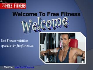 Best dietitian fitness coaches on freefitness.ca