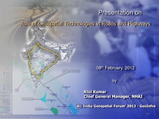 Role of Geospatial Technologies in Roads and Highways