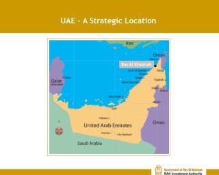 UAE – A Strategic Location