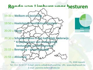 Diocesane  Dienst Schoolbesturen – DOd Hasselt Tulpinstraat 75, 3500 Hasselt
