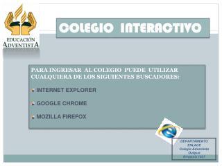 COLEGIO  INTERACTIVO
