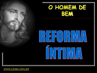 O HOMEM DE BEM